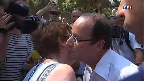 Hollande en balade à Bormes-les-Mimosas