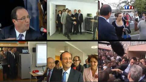 Hollande-Sarkozy : janvier sur un air de campagne