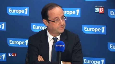 """Hollande sur Sarkozy : """"la vie privée n'a pas à s'exhiber"""""""