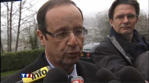 """Hollande veut incarner une """"branche solide"""" du PS"""
