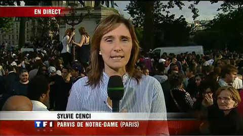 Hommage : ils sont venus nombreux devant Notre-Dame
