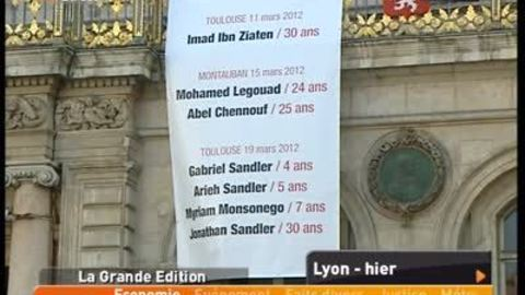 Hommage national aux victimes de Toulouse