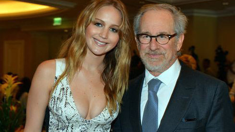 Hunger Games - Jennifer Lawrence invitée du Hollywood Foreign Press Luncheon