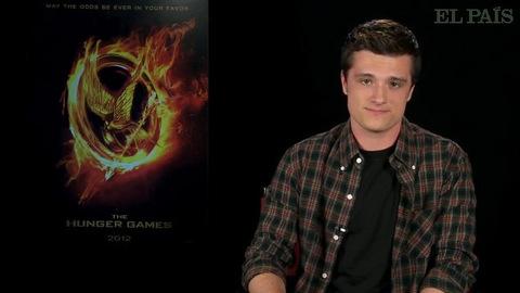 Hunger Games - Josh Hutcherson présente la bande-annonce Espagnole