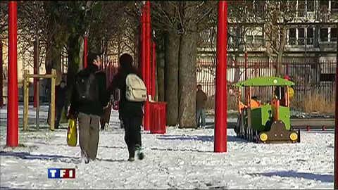 Il a neigé sur Lille