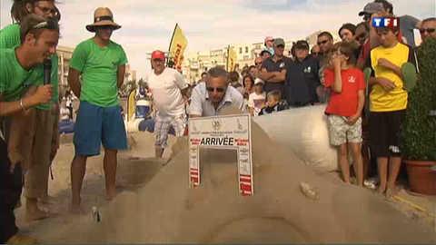 Ils sont champions de billes sur sable