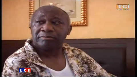 Les images de l'arrestation de Laurent Gbagbo