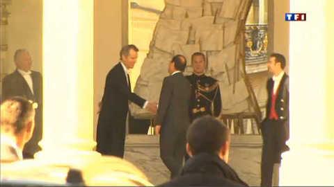 Les images de François Hollande à l'Elysée
