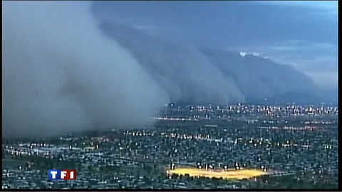 Les images de la tempête de sable en Arizona