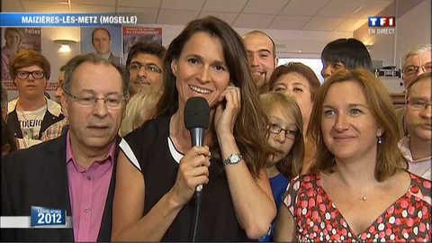 """L'immense joie"" de Filipetti, élue en Moselle"
