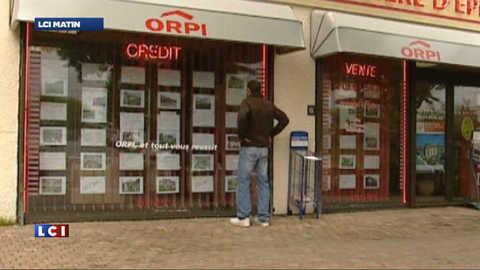 Immobilier : forte baisse des prêts accordés