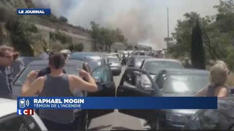Important incendie dans les Pyrénées-Orientales : un témoin raconte