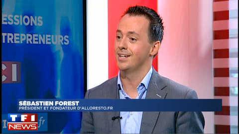 Impressions d'entrepreneurs avec Sébastien Forest PDG d'Alloresto.fr