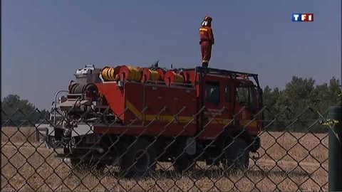 Incendie en Espagne : les pompiers et l'armée sur le qui-vive