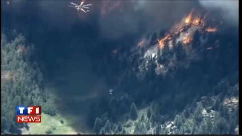 Incendie incontrôlé dans le Colorado : les images