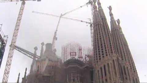 Incendie à la Sagrada Familia, un homme interpellé