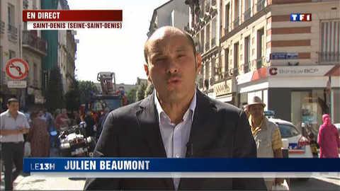 Incendie de Saint-Denis : le point sur place