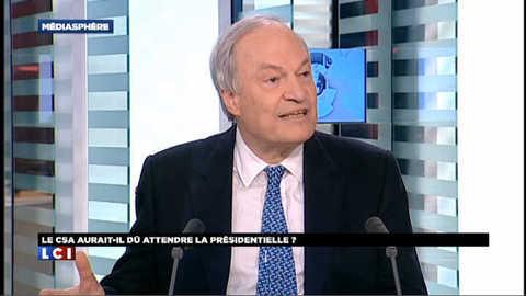 Indépendance du CSA : Michel Boyon répond à Aurélie Filippetti