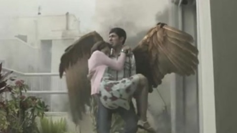 Indian Angel boy born with wings