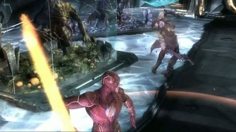 Injustice Gods Among Us : gameplay trailer