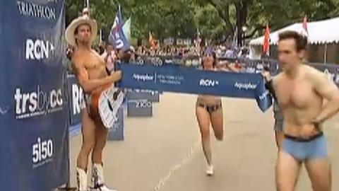 Insolite : un marathon en sous-vêtements