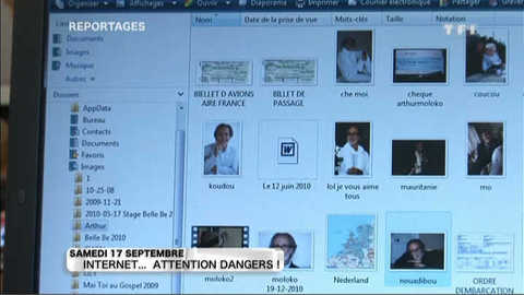Internet... Attention dangers ! : extraits