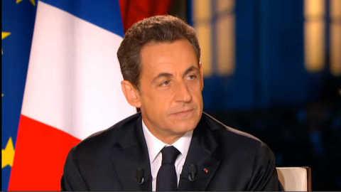 Intervention télévisée de Nicolas Sarkozy : la vidéo intégrale