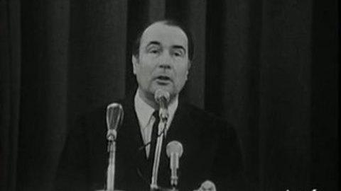 Interview François Mitterrand