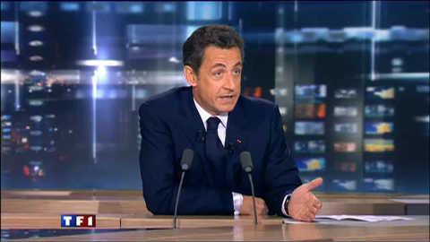 L'interview intégrale de Nicolas Sarkozy au 20h