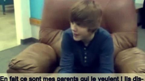 L' interview de Justin Bieber