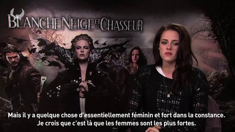 """Interview Kristen Stewart pour le film """"Blanche-Neige et le chasseur"""""""