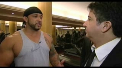 Interview MVP  à la salle de sport