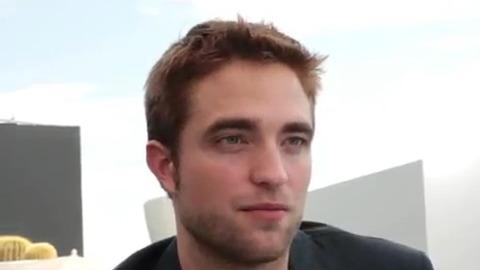 """Interview Robert Pattinson pour le film """"Cosmopolis"""" lors du Festival de Cannes 2012"""