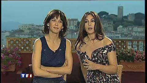 Invitées du 20h : Sophie Marceau et Monica Bellucci font une