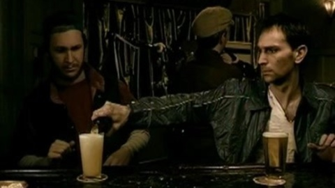 Irish gushing beer fountain: a Bud ad, really?