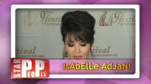 Isabelle Adjani se confie...