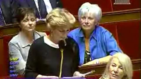 Isabelle Vasseur - Manifestation des céréaliers