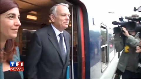 Jean-Marc Ayrault, un Premier ministre en RER