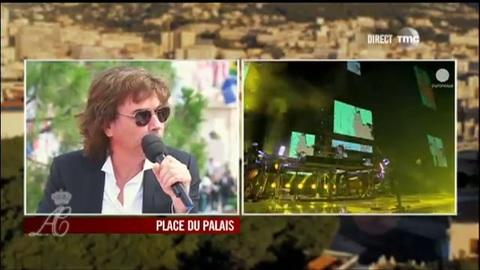 Jean-Michel Jarre revient sur les coulisses de son concert