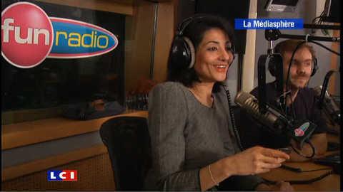 Jeannette Bougrab s'éclate sur Fun Radio !