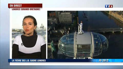 """JO 2012 : """"Les Britanniques sont galvanisés"""""""