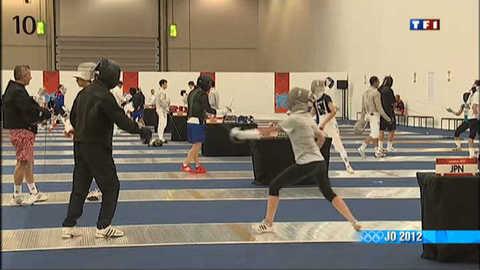JO 2012 : l'entraînement des athlètes du monde entier