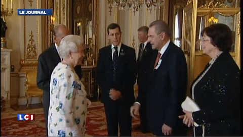 JO de Londres : la reine accueille le patro du CIO