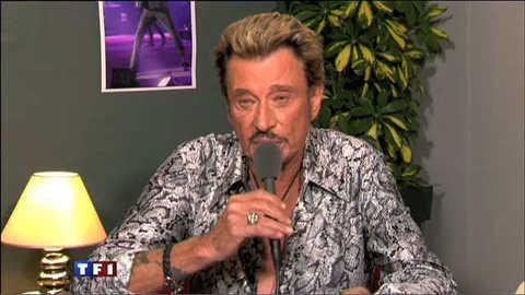 Johnny Hallyday invité du 20h à 15 minutes de la scène