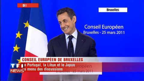 Un journaliste italien sèche Sarkozy