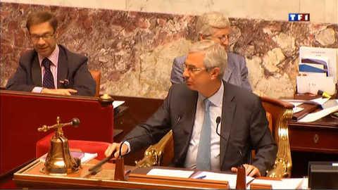 Une journée avec Claude Bartolone à l'Assemblée