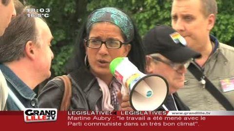Journée mondiale de lutte contre l'homophobie à Lille