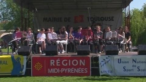 La journée pour la paix à la Prairie des Filtres (Toulouse)