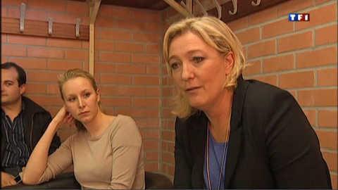 """Une journée """"rythmée"""" avec Marine Le Pen"""