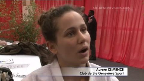 Judo: Série noire pour Aurore CLEMENCE (Essonne)
